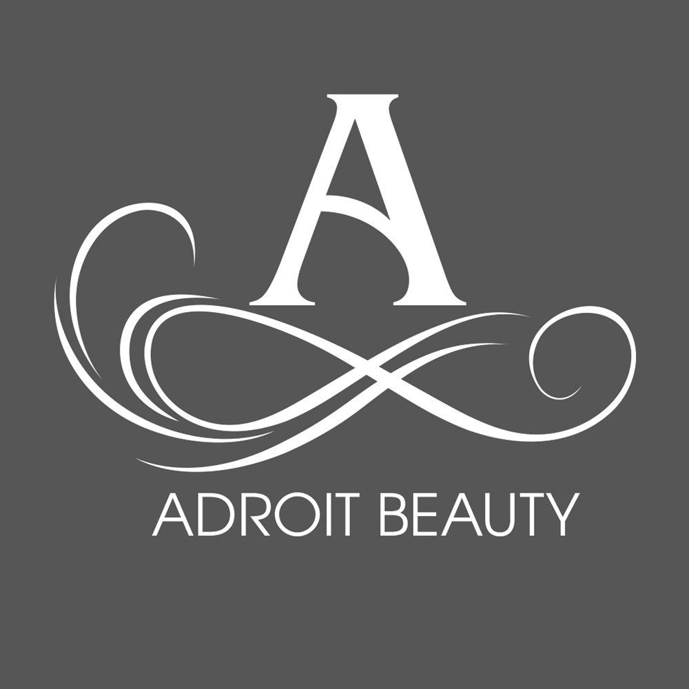 adroit beauty logo design irvine