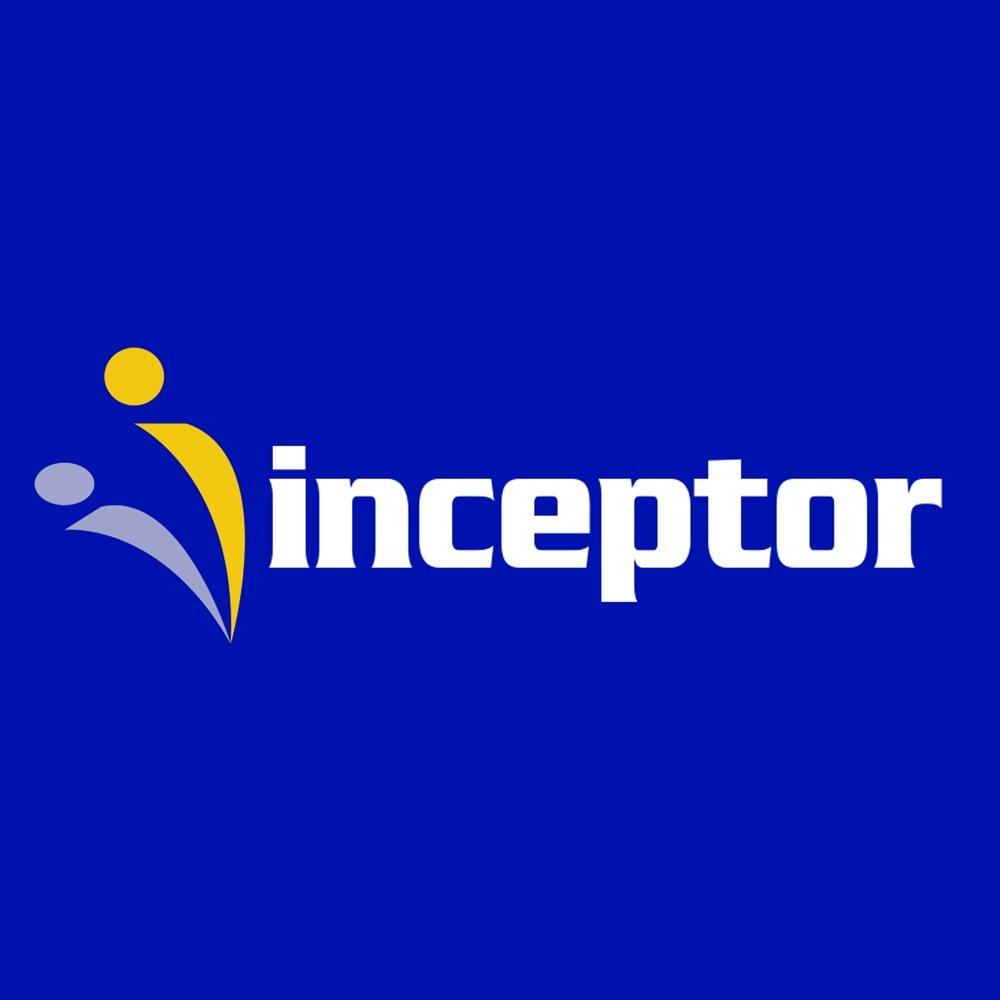 inceptor logo design irvine